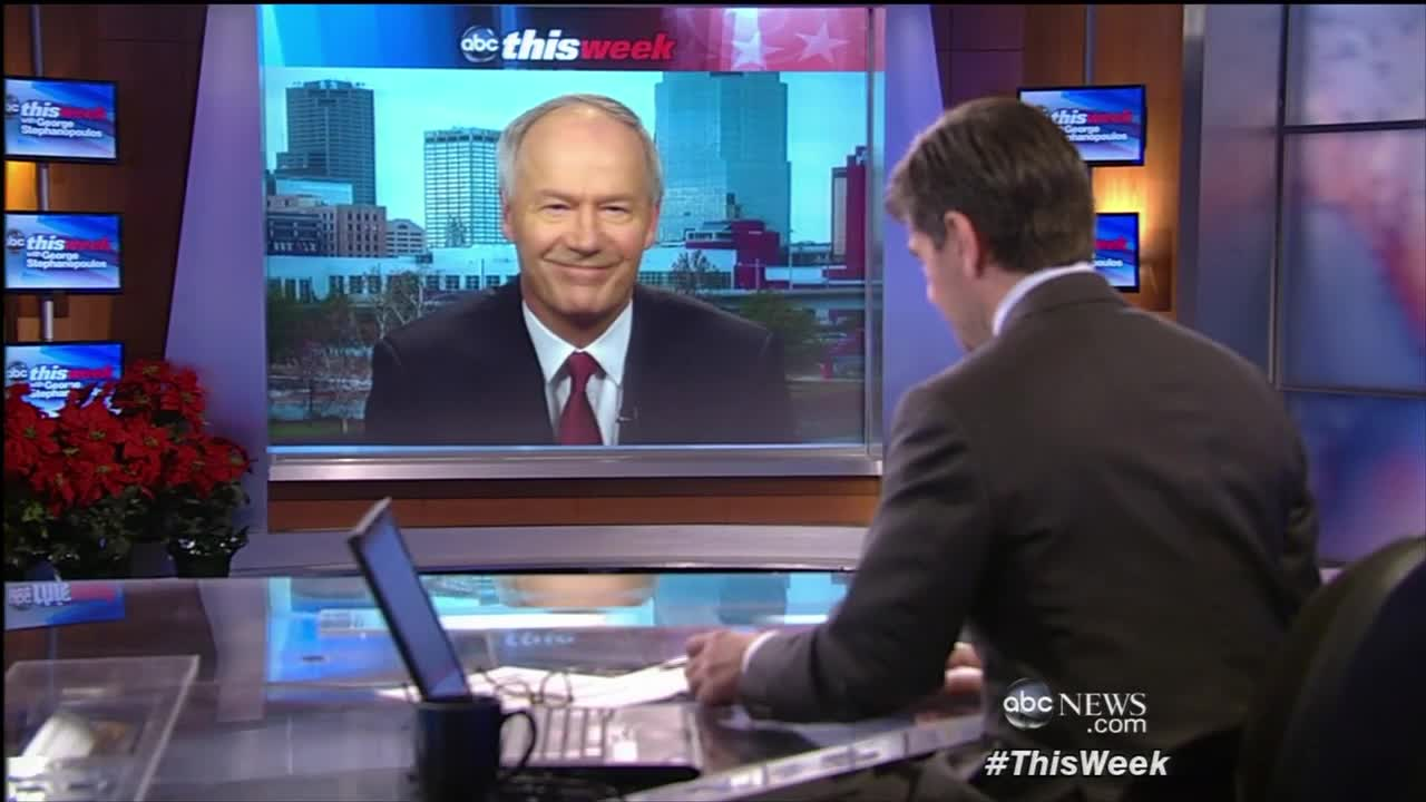 ABC This Week with George Stephanopoulos: Asa Hutchinson