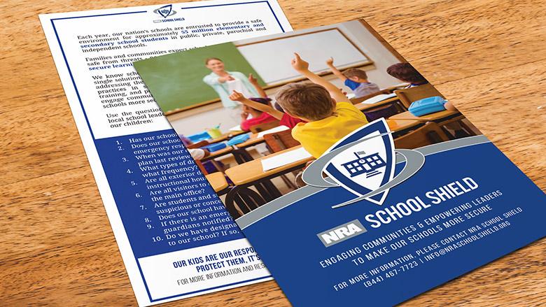 NRA School Shield   Home